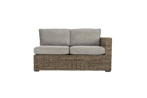 Rattan Conservatory Sofa by Terrain Wicker Rattan Conservatory Furnitureleft Arm Sofa