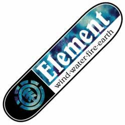 element deck element skateboards element tie dye section skateboard