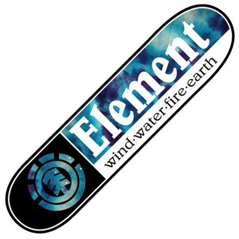 Element Skateboards Element Tie Dye Section Skateboard