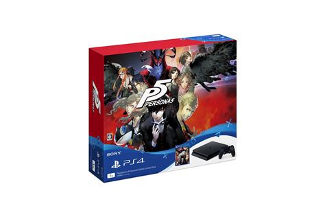 Sony Ps4 Persona 5 persona 5 ps4 slim bundle announced for japan on september