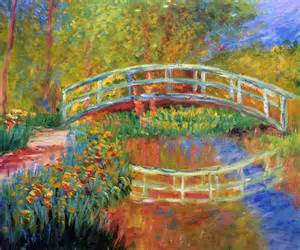 monet the japanese bridge the bridge in monet s garden