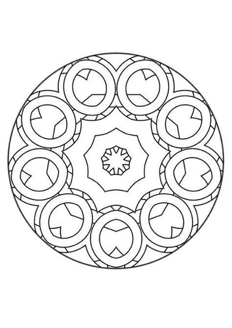 mandala coloring pages for beginners mandala 29 coloring pages hellokids