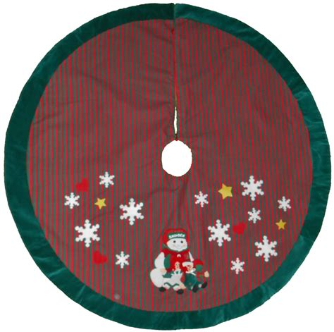 christmas tree skirt with raggedy ann andy snowden by