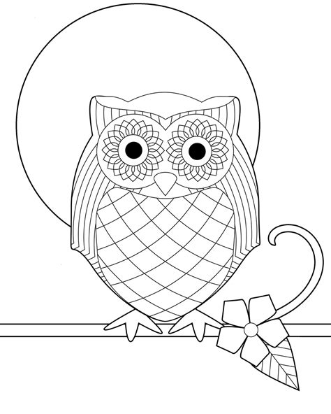 coloring pages with owl owl coloring book pages coloring pages coloring pages for
