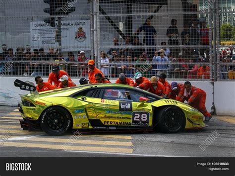 Lamborghini Safety Kuala Lumpur Malaysia August 09 2015 Safety Marshals