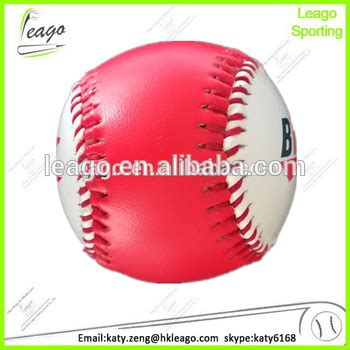 colored baseballs lightweight pu promotion colored baseballs buy