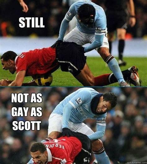 Soccer Gay Meme - still not as gay as wayne rooney soccer meme quickmeme