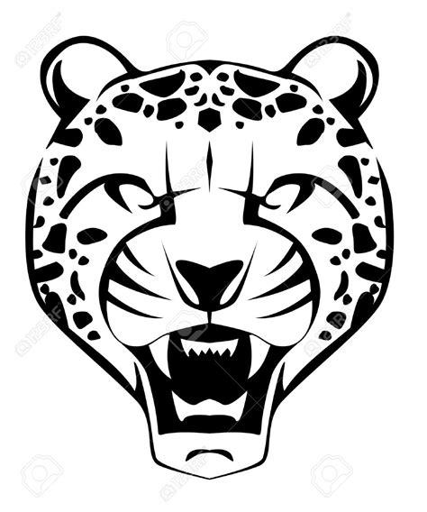 cheetah mask coloring page drawn face cheetah pencil and in color drawn face cheetah