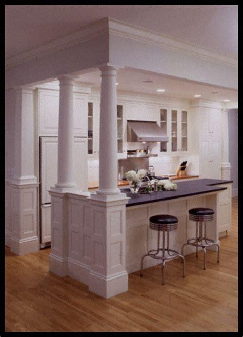 Two Level Kitchen Island Designs by Swanson Woodwork Online Portfolio