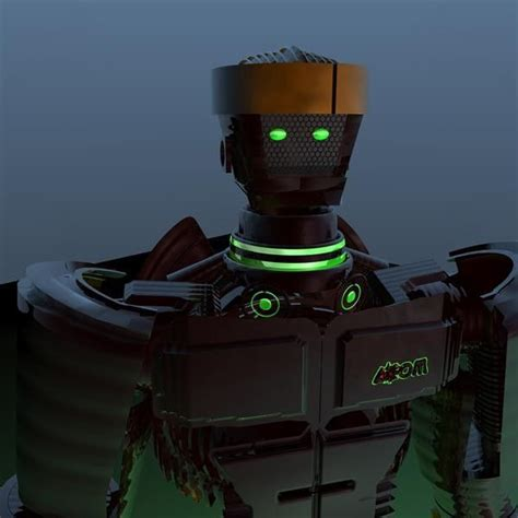 film robot atom atom robot 3d model from real steel movie 3d model d