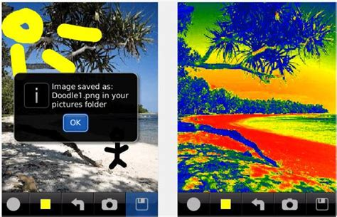doodle photo editor top 3 photo editor for blackberry best blackberry photo apps