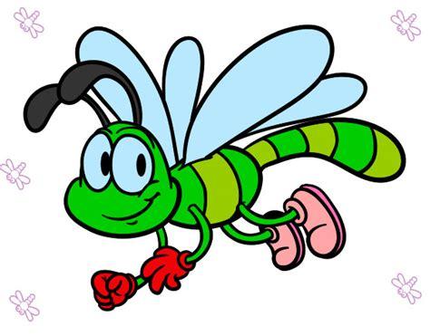 imagenes libelulas tiernas dibujos de lib 233 lulas para colorear dibujos net