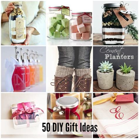 ideas for gifts 50 of the best diy gift ideas the idea room