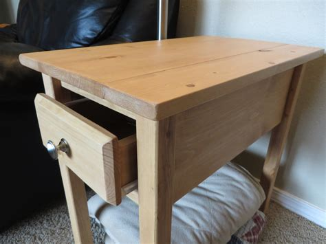 narrow white end table white narrow cottage end table diy projects