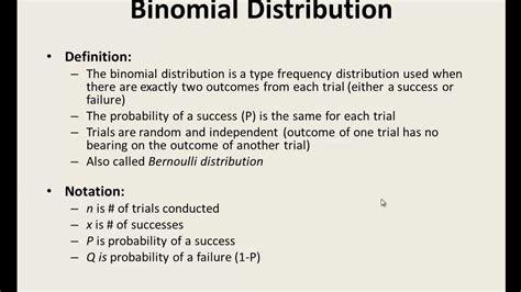 excel statistics 11 binomial distribution binom dist