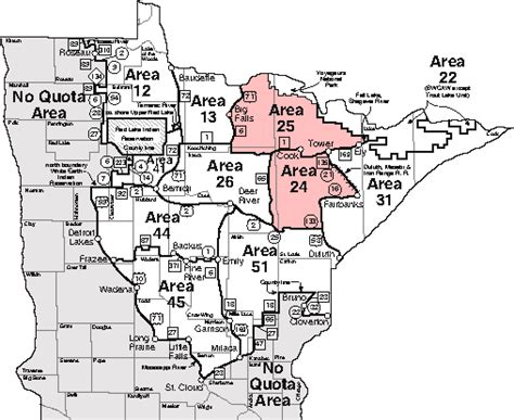 mn deer zone map map of minnesota deer zones afputra