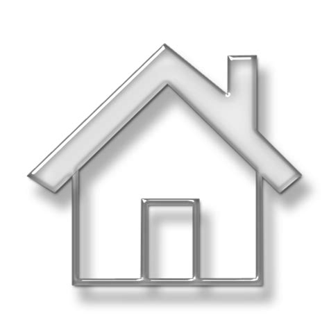 simple home shape with solid roof outline icon 076052