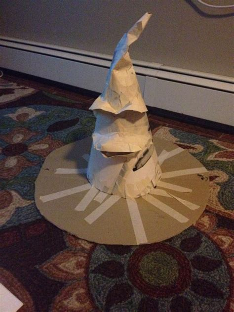 Harry Potter Things To Make Out Of Paper - how to make a harry potter sorting hat snapguide