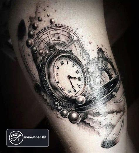 tattoo 3d watch 83 h 236 nh xăm đồng hồ đẹp đẳng cấp cho nam giới ở c 225 nh tay