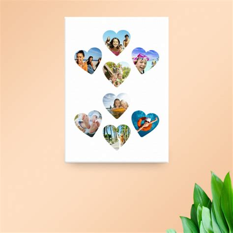 20x30 collage template 20x30 quot collage canvas canvas print templates
