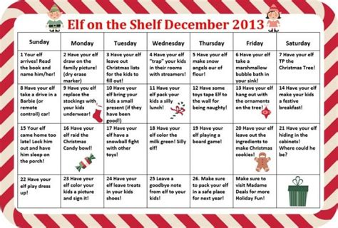 On The Shelf Schedule by Pin By Dotone On On The Shelf