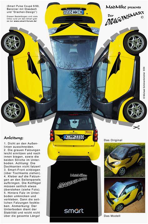 Papercraft For Sale - recortables de coches nuevos smart dibujos para cortar