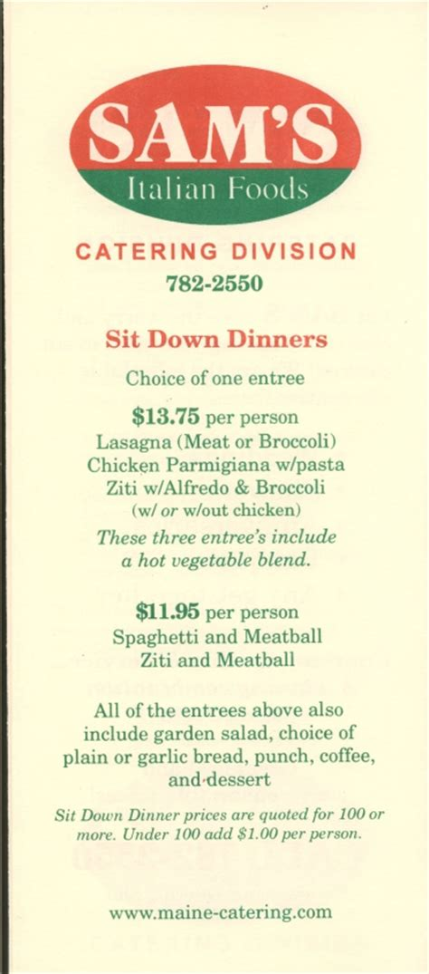 sam s italian platter menu lewiston amp auburn maine restaurants lewiston amp auburn maine