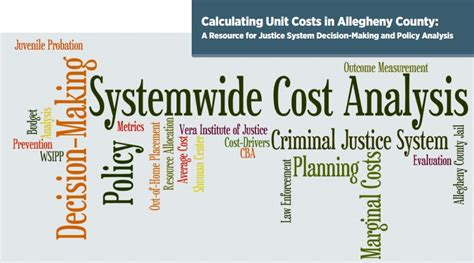 unit cost calculating unit costs in allegheny county a resource for