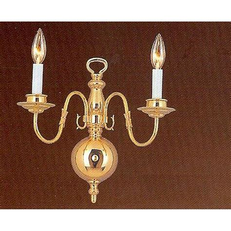 brass sconces bathroom lighting the home depot polished