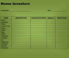 household inventory list template best photos of microsoft office templates inventory
