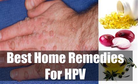 hpv human papillomaviruses home remedies