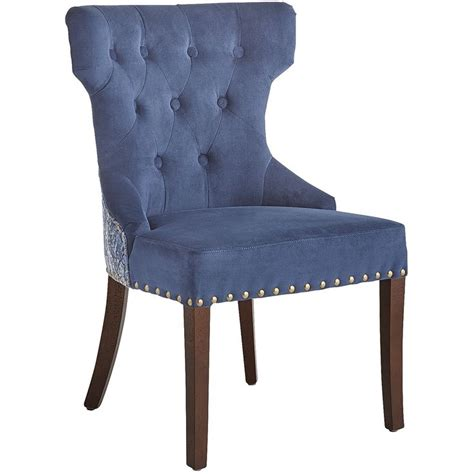 Hourglass Dining Chair Blue Hourglass Dining Chair Indigo Hardwood Home Decor Furniture Ideas Indigo Dining