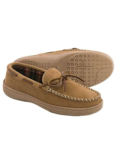 fleece lined moccasin slippers clarks clarks plaid suede moccasin slippers fleece lined