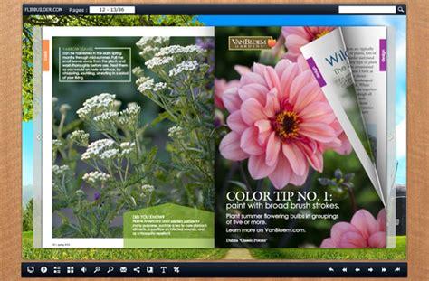 diy ideal gardening magazine with flash template flipbuilder com