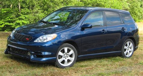 2004 Toyota Matrix Xr File 2003 2004 Toyota Matrix Xrs Jpg Wikimedia Commons