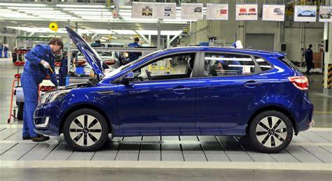 Kia Russia Russia Kia Starts Production Of The K2 Hatch In His