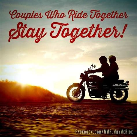 biker couple quotes love quotesgram couples together quotes quotesgram