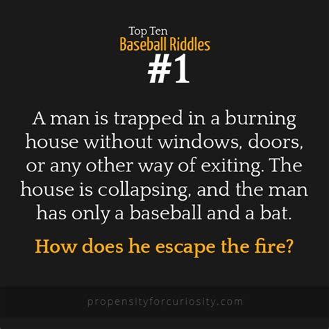 a man is trapped in a house without windows doors or any - Fire Boat Riddle