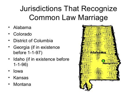Common law and marriage
