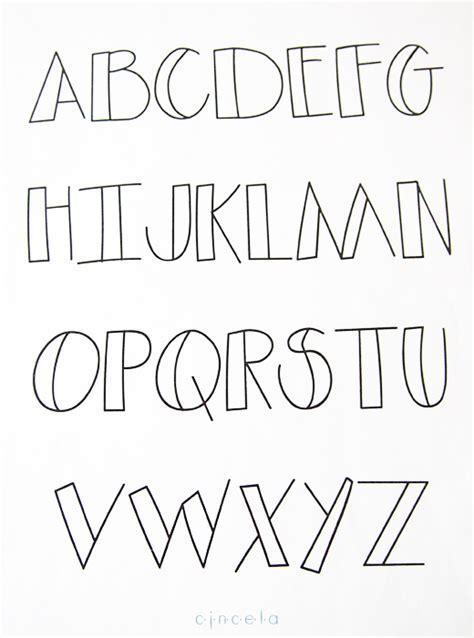 imagenes de letras geniales abecedario de letras dibujadas cincela