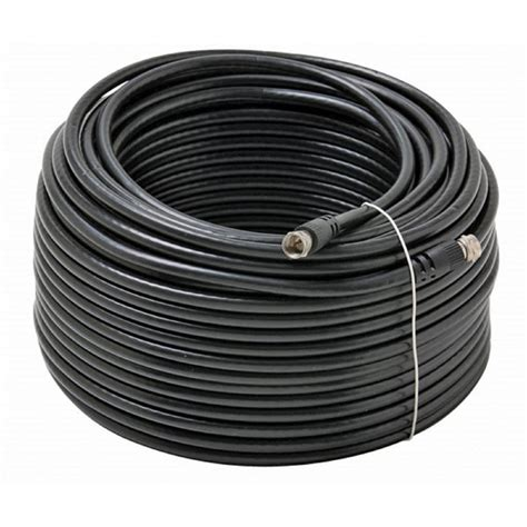 100 ft tv cable wire 50 100 200 500 ft rg 6 satellite coaxial cable hd antenna