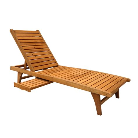 chaise lounge patio furniture shop leisure season natural patio chaise lounge chair at
