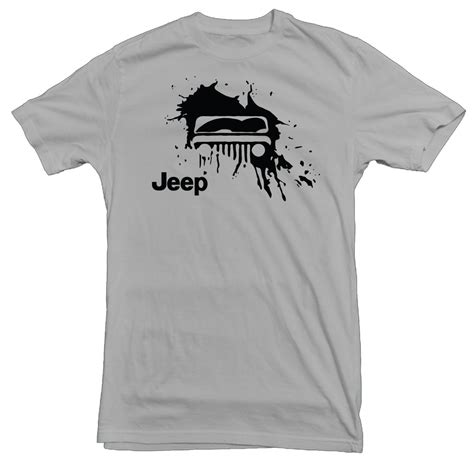 jeep mud splat gravel t shirt justforjeeps gv102