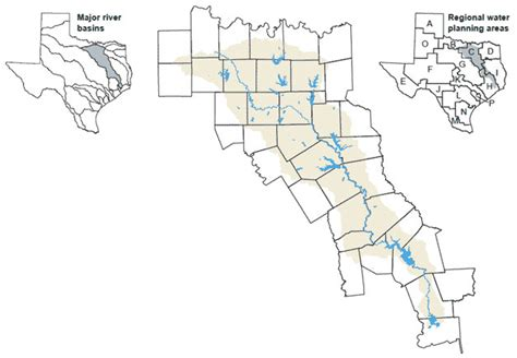 river texas map river basins river basin texas water development board