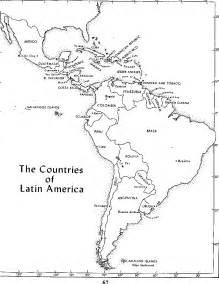 map of central and south america quiz template