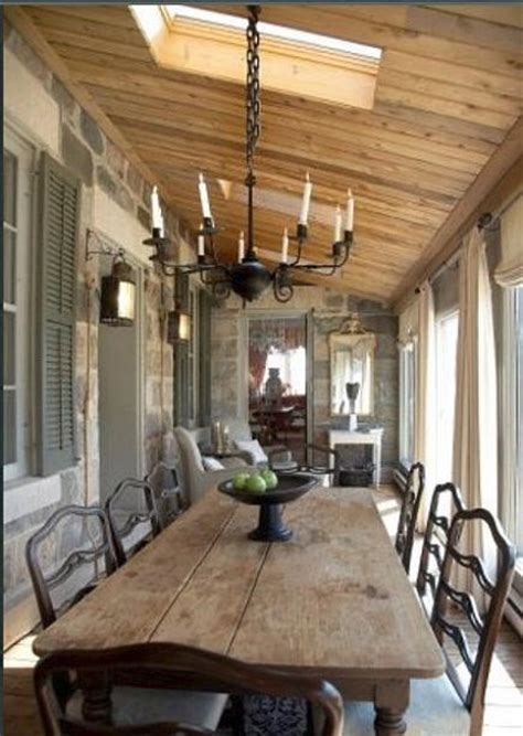 Farm Table In Formal Dining Room Pairing The Formal With The Primitive Places In The Home