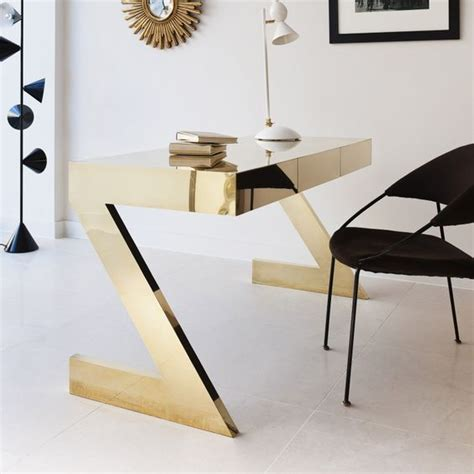white and gold writing desk 10 modern home office design ideas inspirations