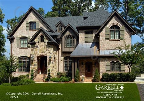 european home design inc garrell associates inc lanier b house plan 01274 front