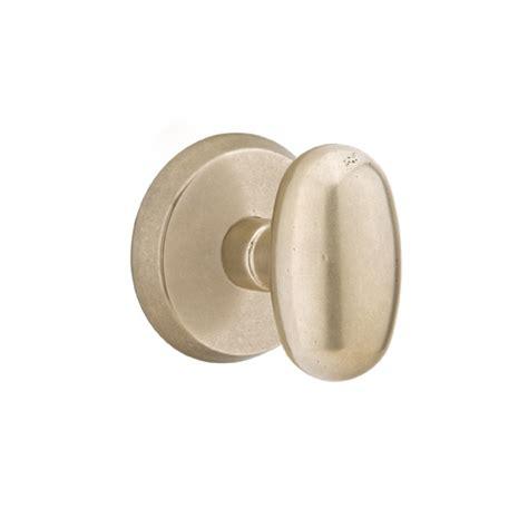 Emtek Egg Knob by Emtek Sandcast Bronze Egg Door Knob Set Low Price Door Knobs