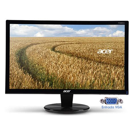 Monitor Acer Type P166hql Monitor Acer 15 6 Led P166hql